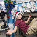 święta na ISS