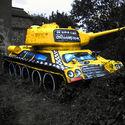 T-34 w Londynie :)