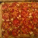 szybka pizza domowej roboty ;D