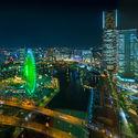 Wielkie miasta nocą