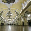 Metro w Moskwie.
