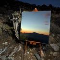 Odbicie w lustrze jak obraz