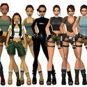 Lara Croft na przestrzeni 17 lat