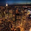 manhattan in the night :)