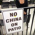 Zakaz Chin na patio