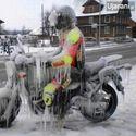 Motocyklista.