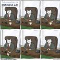 Kot biznesmen