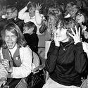 Fanki podczas koncertu The Beatles