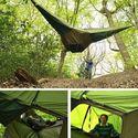 Wiszący namiot.