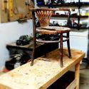 Renowacja krzeseł a'la Thonet + krzesełko dla pupila