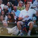 Andy Murray trzyma starca w swojej torbie