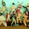Figurki japońskich bohaterów mang i anime