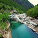 Verzasca Valley , Switzerland