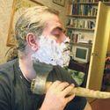Poranne golenie