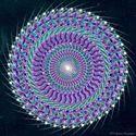 the spiritual energy of the cosmos' mandala