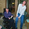 Kiedy Jim Carrey spotyka Stephena Hawkinga
