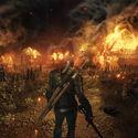 Płonie wioska