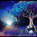 drzewo w astralu