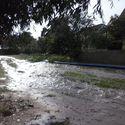 Droga obok mojego domu spłynęła razem z deszczem...