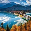 Jezioro Sylvenstein...