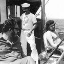 Che Guevara i Fidel Castro na rybach, 1960