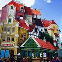 Mural w 3D - Poznań