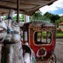 Opuszczony park rozrywki. Nara, Japonia.(Abandoned theme park in Nara