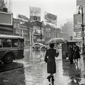 NYC 1943, deszcz.