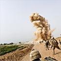 Wybuch miny w Afganistanie