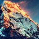 Mount Everest- najlepiej.