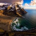Plaża w Norwegii