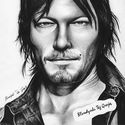 Portret - Daryl Dixon