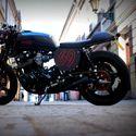 Mój Cafe Racer - Honda CB 900 F. Rok 1979 :)