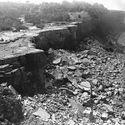 1969 - Wodospad Niagara podczas suszy stulecia