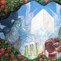 The Divine Jerusalem by Ernst Fuchs