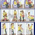 Pozycje w samolocie