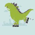 Godzilla roller