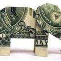 one dollar origami