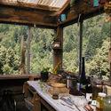 widok z kuchni