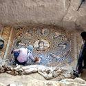 2200 letnia mozaika podłogowa