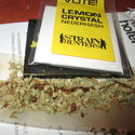 Super lemon haze+chemdog cream hash,pokropiony lemon crystal(90&thc) :)