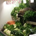 Na warzywach.