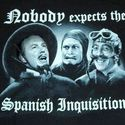 Nobody expects the spanish inquisition !