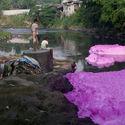 zanieczyszczenie rzeki - filipiny