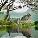 Kilchurn Castle, Scotland by Alan Majchrowicz