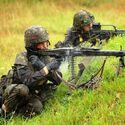 Żołnierze Bundeswehry. Trzeba przyznać, że MG3 wygląda całkiem znajomo... ;)