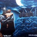 bo graffiti to nie tylko tagi i bombardowanie paneli, graffiti to także prawdziwa sztuka!