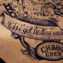 the chaos crew tattoo