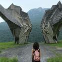 Pomnik upamiętniający bitwę pod Sutjeską Bośnia