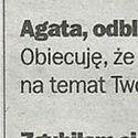 W dzisiejszej prasie